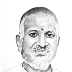 INDIAN MUSIC COMPOSER, SINGER AND SONG WRITER size - 11x16In - 11x16