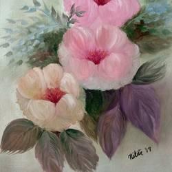 Pink poppy size - 16x20In - 16x20