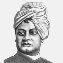INDIAN SPIRITUAL LEADER SWAMI VIVEKANANDA size - 7.5x10In - 7.5x10