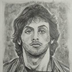 Sylvester Stallone in Ramboo (First Blood) size - 8x11In - 8x11