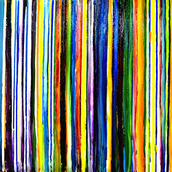 ABSTRACT-1 size - 44x26In - 44x26