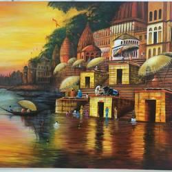 Banaras  size - 36x30In - 36x30