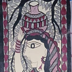 Indian culture size - 7.5x23In - 7.5x23