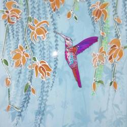 Hummingbird size - 8x10In - 8x10