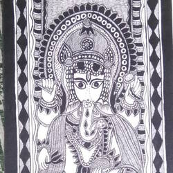 Lord Ganesha  size - 7.5x23In - 7.5x23
