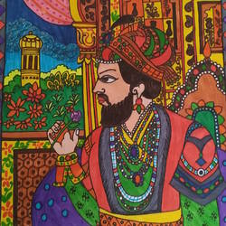 Shah Jahan-the warrior size - 8x11In - 8x11