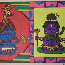 Shiva- The Lord size - 8x10In - 8x10