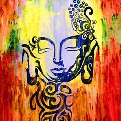 buddha size - 19.685x23.62In - 19.685x23.62