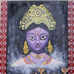 Maa Kali  size - 24x36In - 24x36