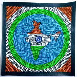India size - 9x9In - 9x9