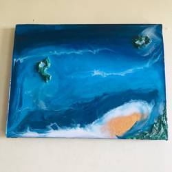 Beach Comb size - 12x16In - 12x16