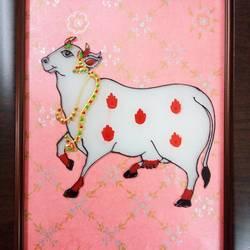 PICHWAI COW size - 8x10In - 8x10