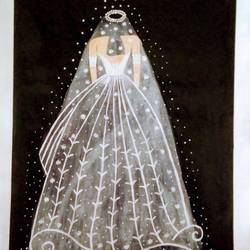 Bride size - 15x22In - 15x22
