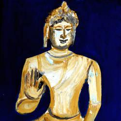 LORD BUDDHA-4 size - 12x15In - 12x15