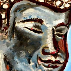 LORD BUDDHA-5 size - 12x15In - 12x15