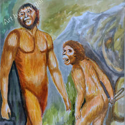 Early Man size - 19x13In - 19x13