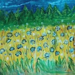 Floral arrangement size - 16x14In - 16x14