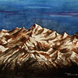 Mountain-6 size - 15x11In - 15x11