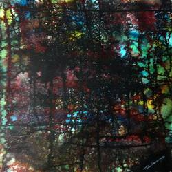 Evening of Duars size - 22x22In - 22x22