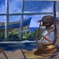 the waiting interval  size - 12x16In - 12x16