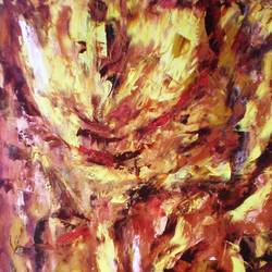 TUMULTUOUS TIMES size - 25x33In - 25x33