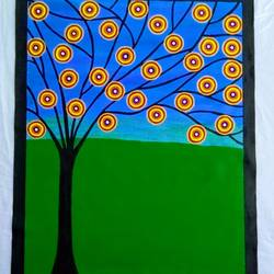 Abstract Painting - Tree size - 25x31In - 25x31