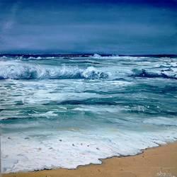 Seascape size - 14x14In - 14x14