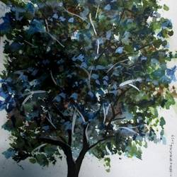 Tree of Duars-2 size - 9x12In - 9x12