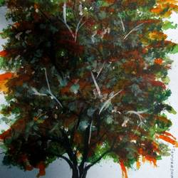Tree of Duars-3 size - 9x12In - 9x12