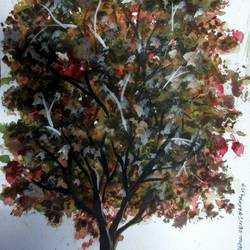 Tree of Duars-5 size - 9x12In - 9x12