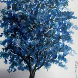 Tree of Duars-6 size - 9x12In - 9x12