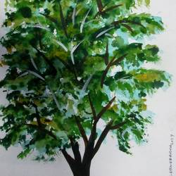 Tree of Duars-14 size - 8.2x11.6In - 8.2x11.6
