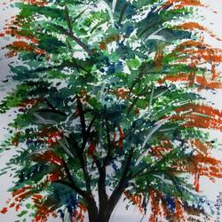 Tree of Duars-20 size - 8.2x11.6In - 8.2x11.6
