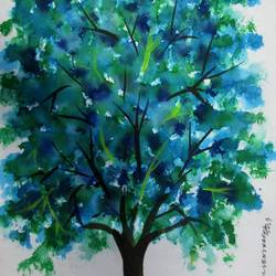 Tree of Duars-22 size - 8.2x11.6In - 8.2x11.6