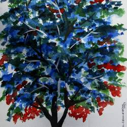 Tree of Duars-24 size - 8.2x11.6In - 8.2x11.6
