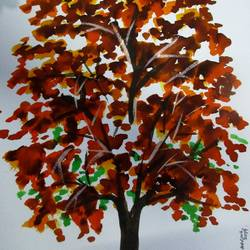 Tree of Duars-26 size - 8.2x11.6In - 8.2x11.6