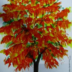 Tree of Duars-28 size - 8.2x11.6In - 8.2x11.6