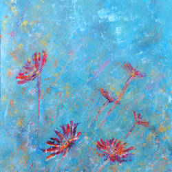 Turquoise 2 size - 18x24In - 18x24