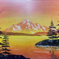 Nature Love size - 36x24In - 36x24