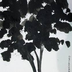 Tree of Duars at night-1 size - 5.5x11.75In - 5.5x11.75