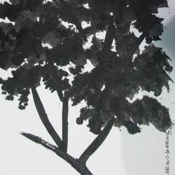 Tree of Duars at night-6 size - 5.5x11.75In - 5.5x11.75