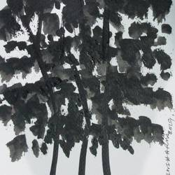 Tree of Duars at night-9 size - 5.5x11.75In - 5.5x11.75