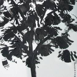 Tree of Duars at night-14 size - 5.5x11.75In - 5.5x11.75