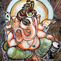 lord ganesha 2 size - 15x18In - 15x18