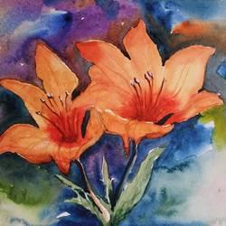 Flower size - 11x7In - 11x7