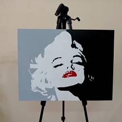 Marilyn Monroe size - 24x18In - 24x18