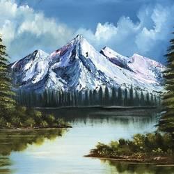 Landscape  size - 16x12In - 16x12