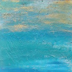 Ocean vibe size - 14x18In - 14x18