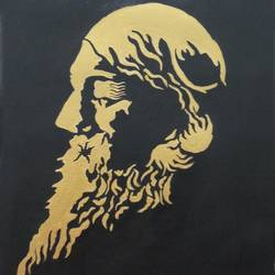 Ravindra nath Tagore  size - 16x20In - 16x20