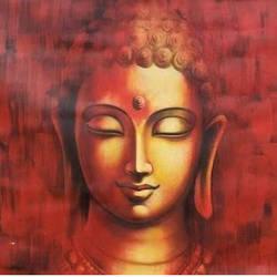 Divine Budha.. size - 36x36In - 36x36
